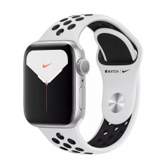 Часы Apple Watch Nike+ Series 5 GPS 40mm Silver Aluminum Case with Pure Platinum/Black Nike Sport Band