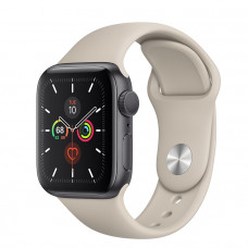 Часы Apple Watch Series 5 GPS 44mm Space Gray Aluminum Case with Stone Sport Band