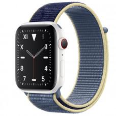 Часы Apple Watch Edition Series 5 GPS + Cellular 44mm White Ceramic Case with Alaskan Blue Sport Loop