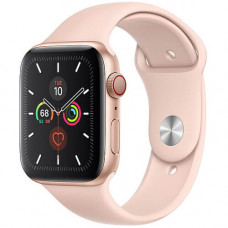 Часы Apple Watch Series 5 GPS+Cellular 40mm Gold Aluminum Case with Pink Sand Sport Band