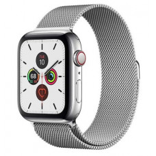 Часы Apple Watch Series 5 GPS+Cellular 40mm Silver Stainless Steel Case with Milanese Loop