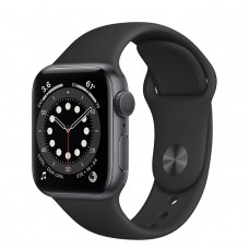 Часы Apple Watch Series 6 GPS 40mm Space Gray Aluminum Case with Black Sport Band