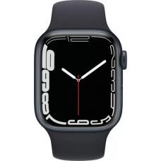 Умные часы Apple Watch Series 7 GPS 41mm Midnight Aluminium Case with Sport Band (MKMX3RU/A)