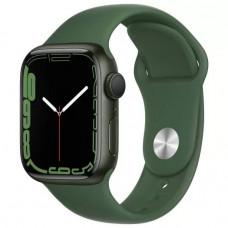 Умные часы Apple Watch Series 7 GPS 45mm Green Aluminium Case with Sport Band (MKN73RU/A)