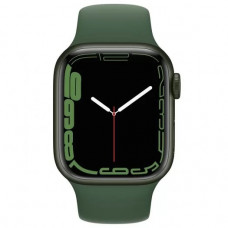 Умные часы Apple Watch Series 7 GPS 41mm Green Aluminium Case with Sport Band (MKN03RU/A)
