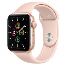 Часы Apple Watch SE GPS 44mm Gold Aluminum Case with Pink Sand Sport Band