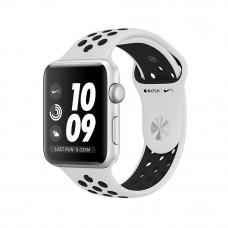 Часы Apple Watch Nike+ Series 3 GPS 42mm Silver Aluminum with Pure Platinum/Black Sport Band MQL32