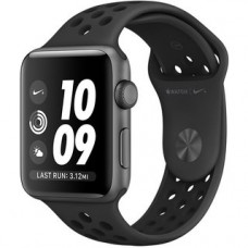 Apple Watch Nike+ 38mm Series 2 Space Gray Aluminum Case with Anthracite/Black Nike Sport Band MQ162