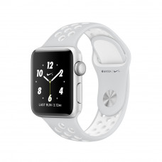 Apple Watch Series 2 Nike+ 38mm Silver Aluminum Case with Pure Platinum/White Nike Sport Band MQ172
