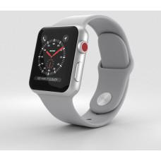 Часы Apple Watch Series 3 GPS + Cellular 38mm Silver Aluminum with Fog Sport Band