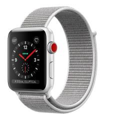 Часы Apple Watch Series 3 Cellular 42mm Silver Aluminum Case with Seashell Sport Loop MQK52