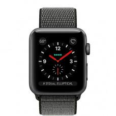 Часы Apple Watch Series 3 Cellular 42mm Space Gray Aluminum Case with Black Sport Loop MRQF2