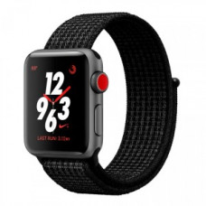 Apple Watch Nike+ Series 3 GPS + Cellular 42mm Space Gray Aluminum Black/Pure PlatinumSport MQLF2