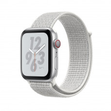 Часы Apple Watch Nike+ Series 4 GPS+Cellular 40mm Silver Aluminum Case with Summit White Nike Sport Loop