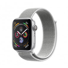 Часы Apple Watch Series 4 GPS 44mm Silver Aluminum Case with Seashell Sport Loop MU6C2