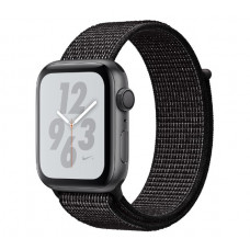 Часы Apple Watch Nike+ Series 4 GPS 40mm Space Gray Aluminum Case with Black Nike Sport Loop MU7G2
