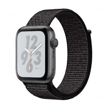 Часы Apple Watch Nike+ Series 4 GPS 44mm Space Gray Aluminum Case with Black Nike Sport Loop