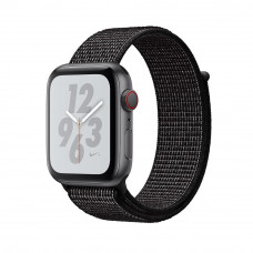 Часы Apple Watch Nike+ Series 4 GPS+Cellular 44mm Space Gray Aluminum Case with Black Nike Sport Loop
