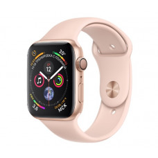Часы Apple Watch Series 4 GPS 40mm Gold Aluminium Case with Pink Sand Sport Band MU682