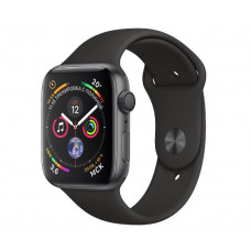 Часы Apple Watch Series 4 GPS 40mm Space Gray Aluminum Case with Black Sport Band MU662