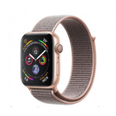 Часы Apple Watch Series 4 GPS 40mm Gold Aluminium Case with Pink Sand Sport Loop MU692