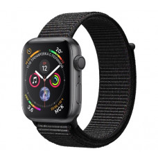 Часы Apple Watch Series 4 GPS 44mm Space Gray Aluminum Case with Black Sport Loop MU6E2 (Серый космос/Черный)