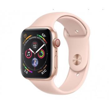 Часы Apple Watch Series 4 GPS+Cellular 40mm Gold Aluminium Case with Pink Sand Sport Band MTUJ2
