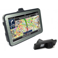 Навигатор GlobusGPS GL-550AV с камерой заднего вида