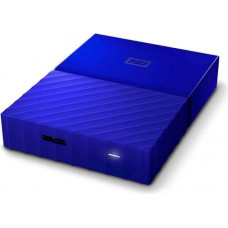 Внешний жесткий диск HDD Western Digital My Passport 3 TB USB 3.0 Blue