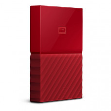 Внешний жесткий диск HDD Western Digital My Passport 3 TB USB 3.0 Red