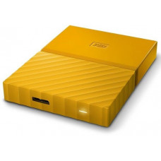 Внешний жесткий диск HDD Western Digital My Passport 3 TB USB 3.0 Yellow