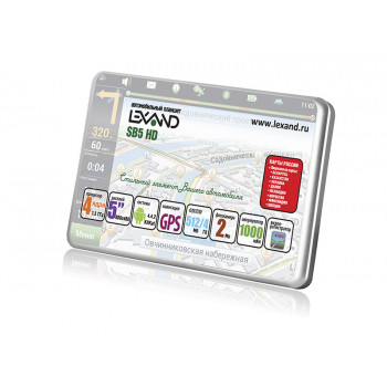 Планшет автомобильный LEXAND SB5 HD