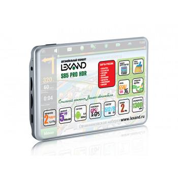 Автомобильный планшет-видеорегистратор LEXAND SB5 PRO HDR
