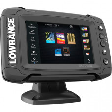 Эхолот-картплоттер Lowrance Elite-5 Ti Mid/High/DownScan 83/200+455/800