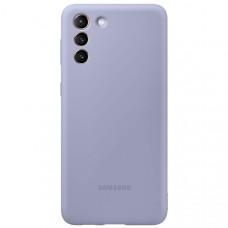 Чехол для Samsung Silicone Cover S21+ Violet Фиолетовый