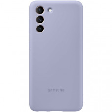 Чехол для Samsung Silicone Cover S21 Violet Фиолетовый