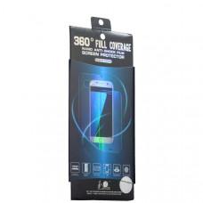 Пленка защитная силиконовая трехмерная (2в1) для Samsung GALAXY S8+ SM-G955F полноэкранная