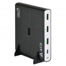 Сетевое зарядное устройство (СЗУ) Power P904U - 4xUSB (1PD+3QC; 90Вт)