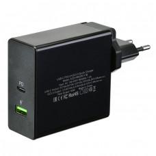 Сетевое зарядное устройство (СЗУ) USB ACD-Power P602W (2xUSB (1PD+1QC; 60Вт))