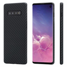 Карбоновый чехол Pitaka MagEZ Case для Samsung Galaxy S10 Plus KS1001S