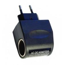 Адаптер переходник прикуриватель 220В на 12В