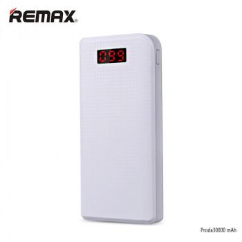 Внешний аккумулятор Remax Proda 30000 mAh белый