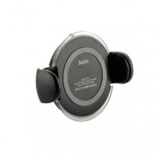 Автомобильное беспроводное Qi зарядное устройство Hoco CW4 Noble Rank Car Wireless Rapid Charger (5-9V/ 1.5A) Черное