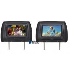 Комплект подголовников ERGO ER704HD с мониторами 7˝ и DVD-проигрывателем