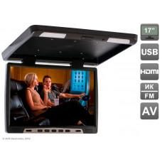 Автомобильный потолочный монитор AVIS AVS117 (черный)