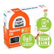 Автомобильная сигнализация StarLine E95 BT 2CAN LIN GSM