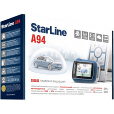 Сигнализация  автомобильная StarLine A94 2CAN 2Slave T2.0