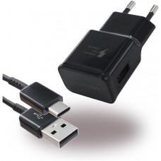Сетевое зарядное устройство SAMSUNG EP-TA20EBECG Black