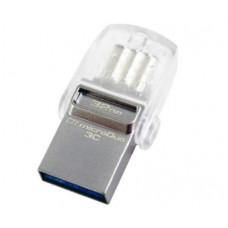 Флеш-накопитель Kingston Data Traveler microDUO 3C 128gb с разъемом USB Type-C