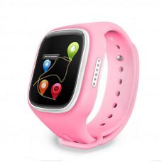 Детские часы с GPS трекером MonkeyG S80 Pink